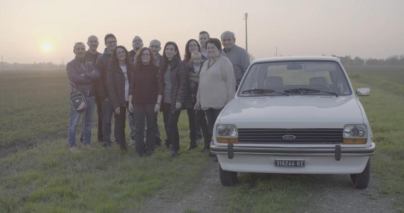 38 Jahre alter Foto Fiesta restauriert