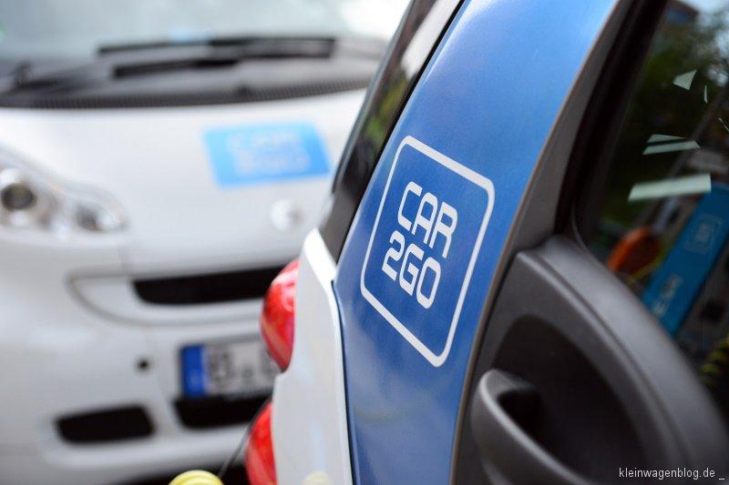 Berliner Elektro car2go jetzt überall in der Stadt