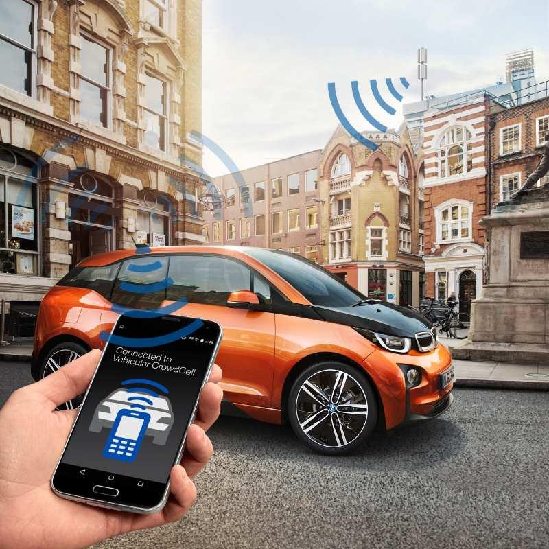 BMW: Einsatz mobiler Femtozellen zur Verbesserung zukünftiger Mobilfunknetze