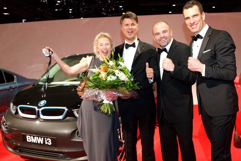 BMW i3 für die Stiftung Deutsche Sporthilfe