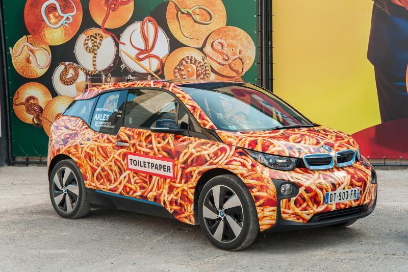 BMW i3 Spaghetti-Auto