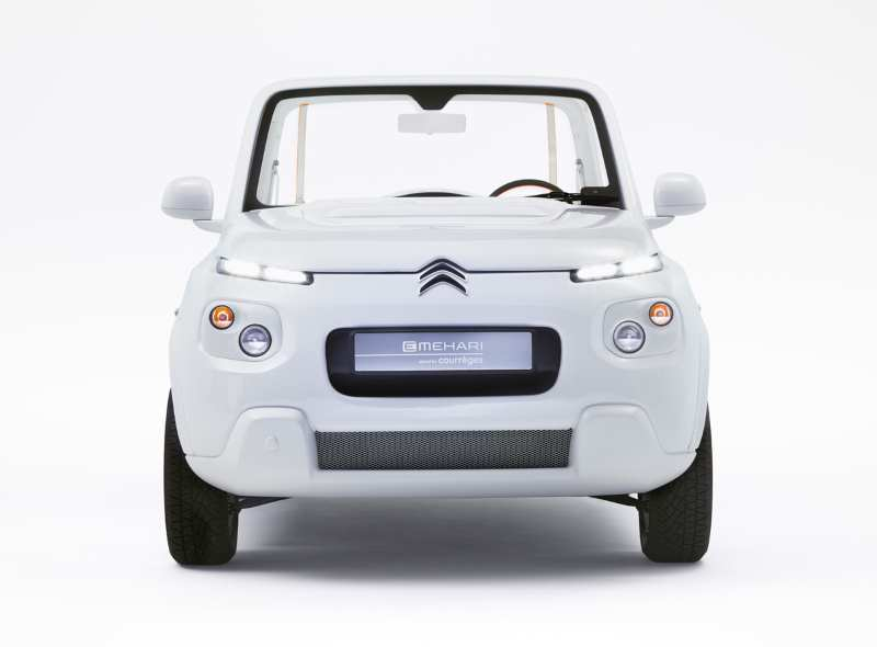 Concept Car Citroën E-Méhari styled by Courrèges