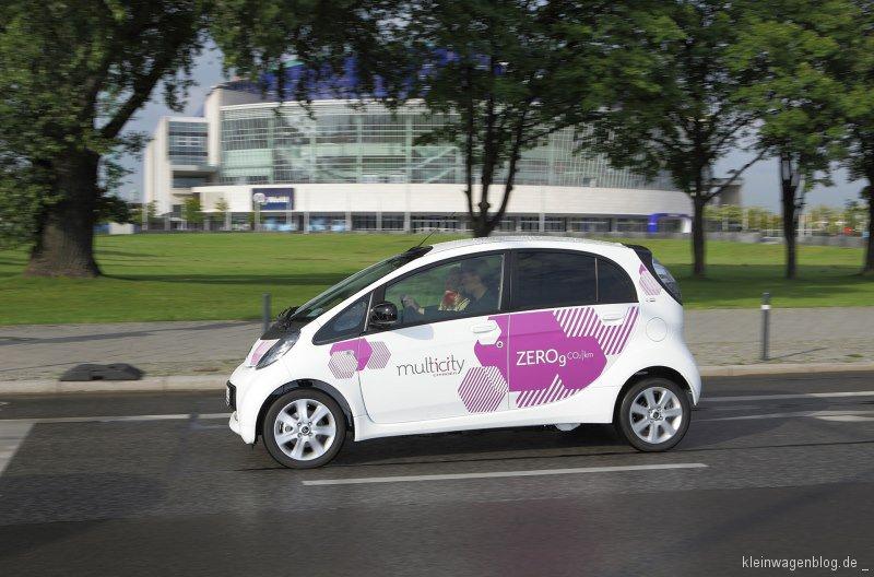 Citroën Multicity Carsharing Berlin: Erfolgreiches Elektro-Carsharing mit 200.000 Fahrten