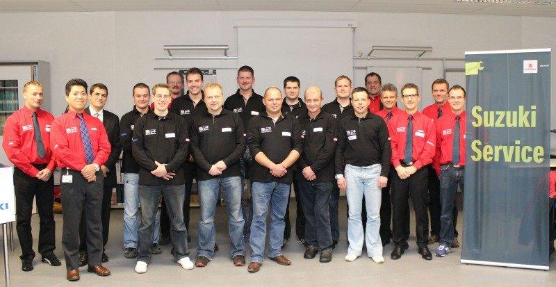 Deutschlands beste Suzuki Mechaniker 2012 kommen aus Niedersachsen