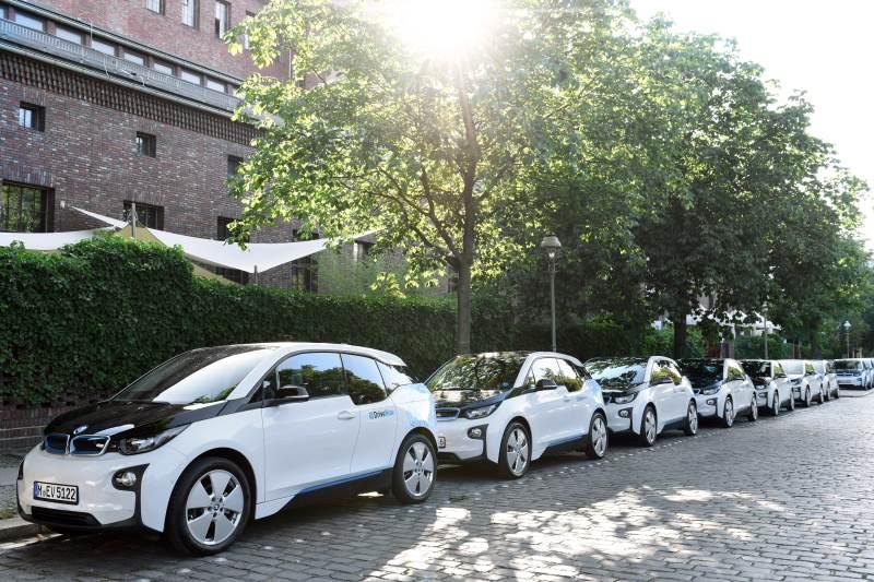 Elektrisches Carsharing als Schlüsselkomponente; der BMW i3 jetzt bei DriveNow