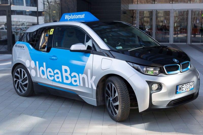 Emissionsfreier Geldtransport mit dem BMW i3