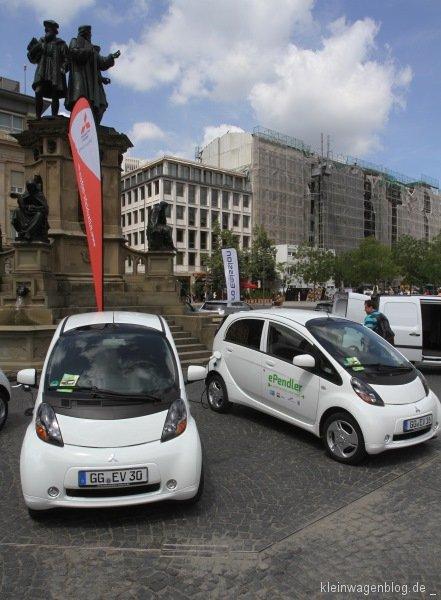 ePendler erfolgreich in Frankfurt gestartet