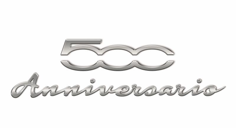 der neue fiat 500 anniversario am 4 juli 2017 feiert der 500 geburtstag. Black Bedroom Furniture Sets. Home Design Ideas