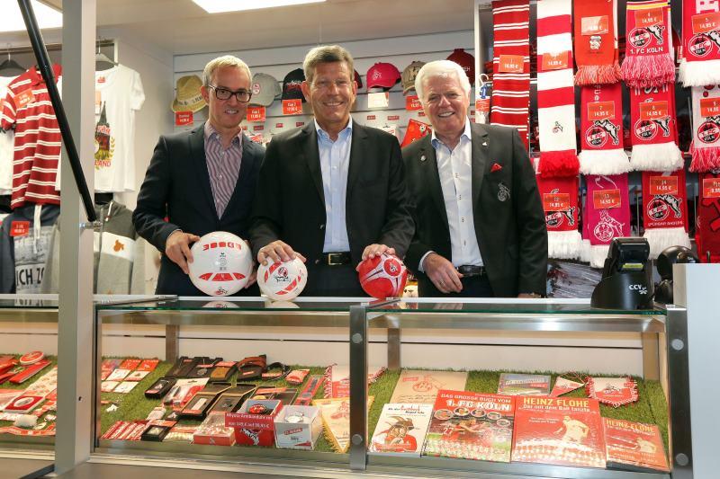 Ford bleibt Fahrzeug-Sponsor des 1. FC Köln