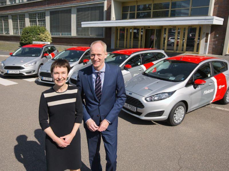 Ford geht mit DB Rent den nächsten Schritt beim Carsharing