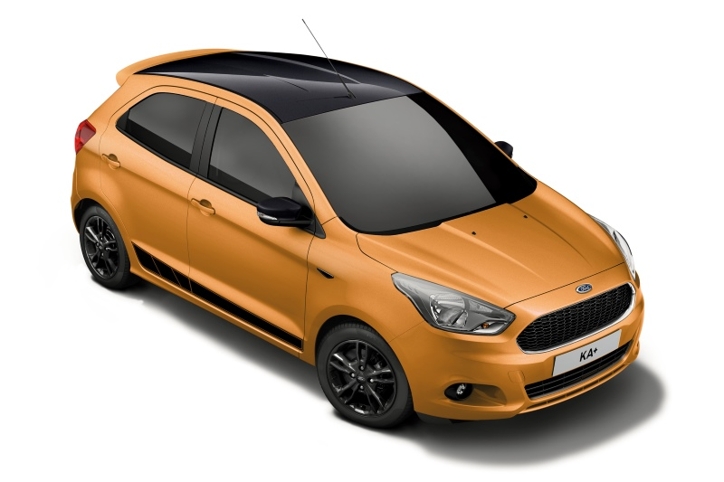 "Ford KA+ ""Black Edition"""