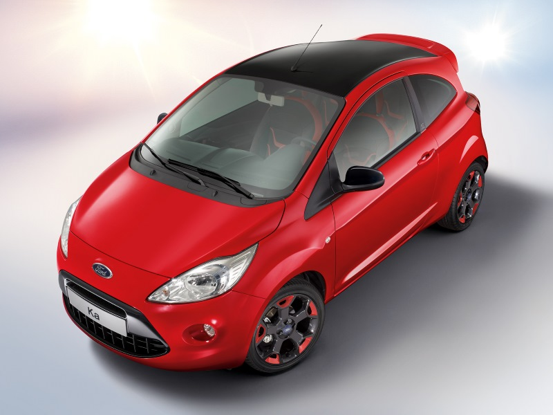 Ford Ka Red & Black Edition