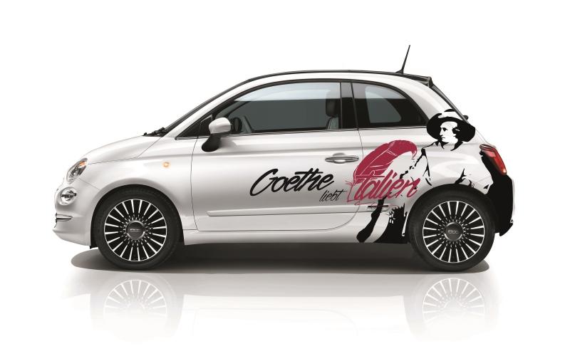 Goethe liebt Italien - im Fiat 500 auf den Spuren des großen Dichters