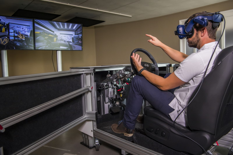 Hyundai - Virtuelle Sitzkiste