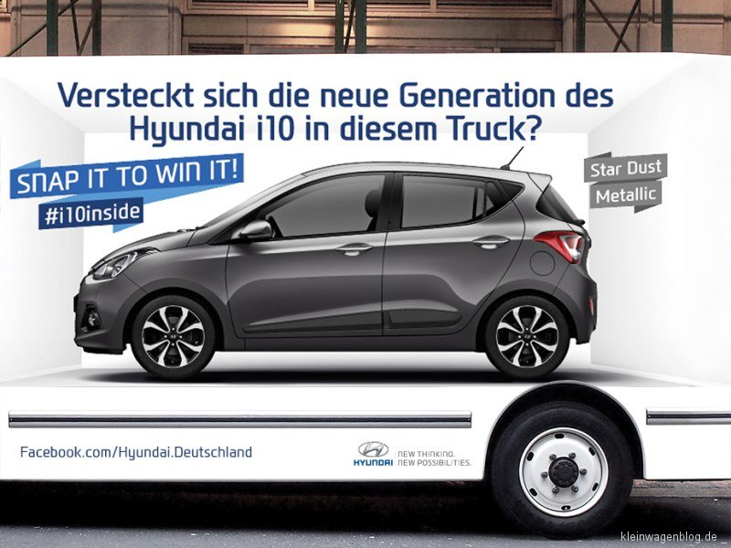 In welchem Lkw steckt der Hyundai i10?