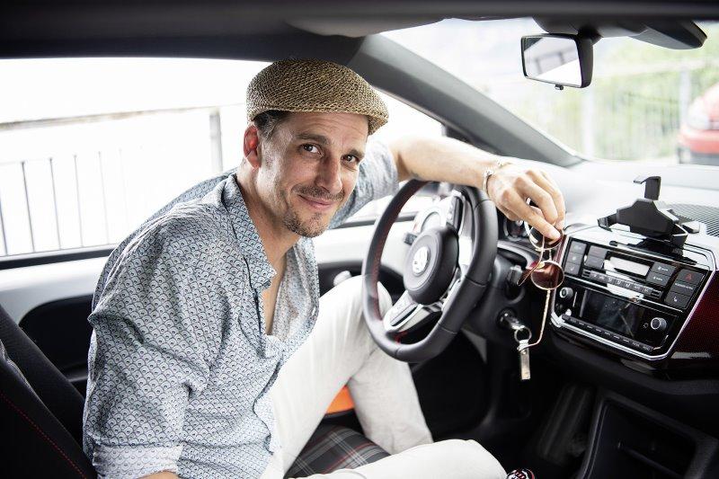 Ischtar Isik testet den VW up!