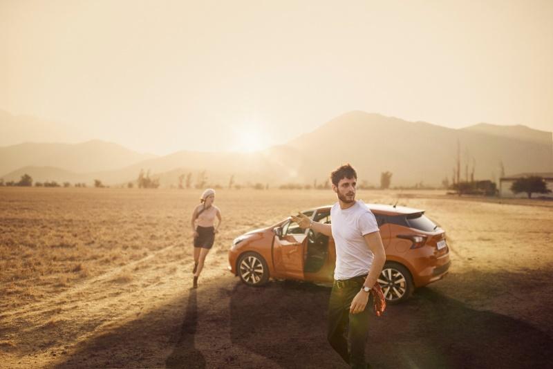 Kampagne zum neuen Nissan Micra