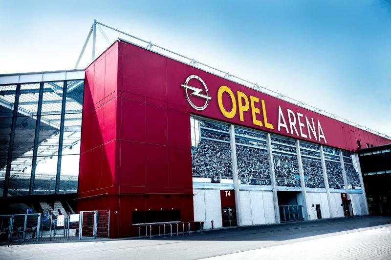 Mainzer Stadion heißt zukünftig OPEL ARENA