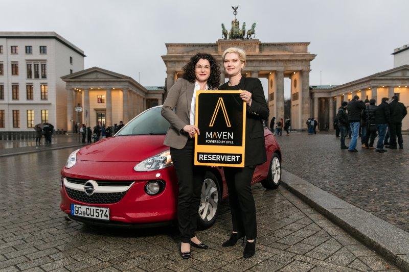 Maven: Neues Mobilitätskonzept powered by Opel startet 2017