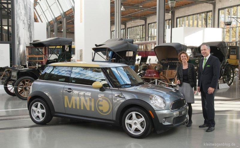 MINI E kommt ins Deutsche Museum