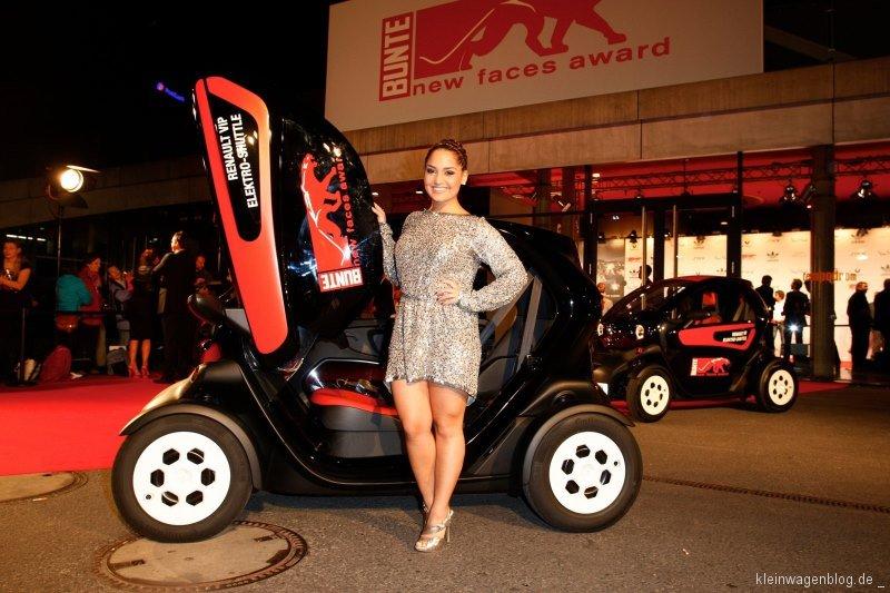 Mit Renault zum roten Teppich beim new faces award FILM 2013