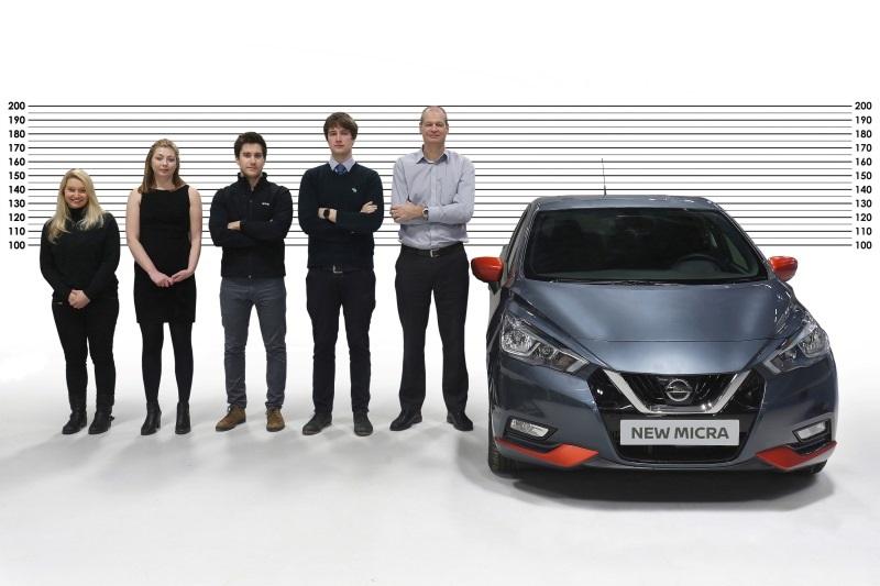Nissan Micra für kleine und große Menschen