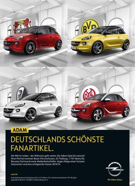 Opel Adam Werbung