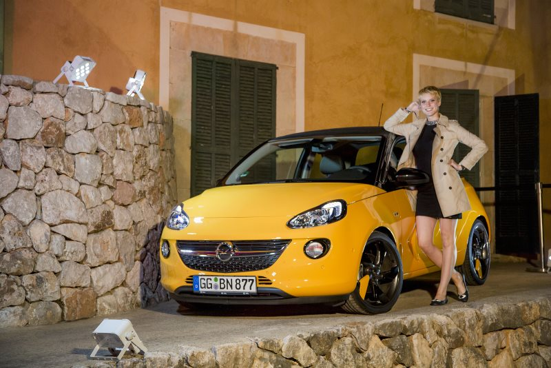 "Opel-Model Kim ist ""Germany's next Topmodel"" 2016"