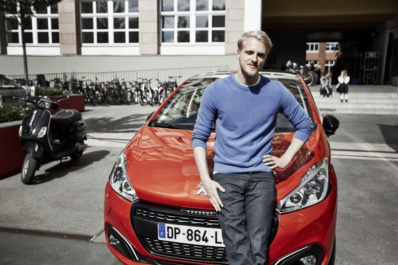 Peugeot 208 Kampagne mit Mario Galla