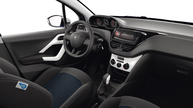 sondermodell peugeot 208 like kleinwagen kleinstwagen stadtautos. Black Bedroom Furniture Sets. Home Design Ideas