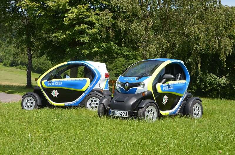 Renault Elektroautos für die Polizei Bonn