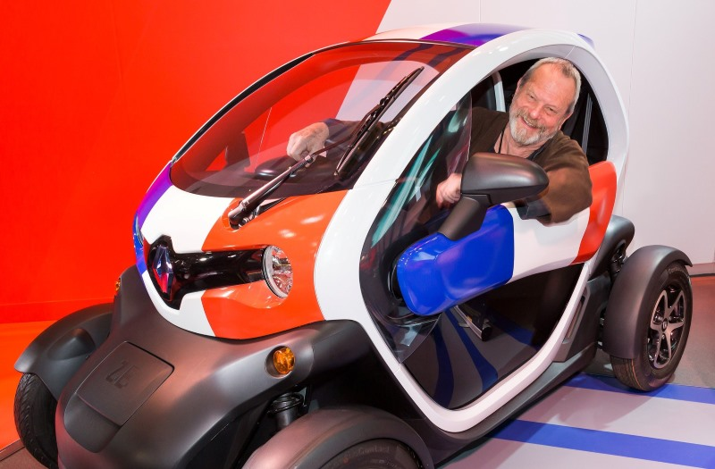 "Renault Twizy als Hollywood-Star im Blockbuster ""Zero Theorem"""