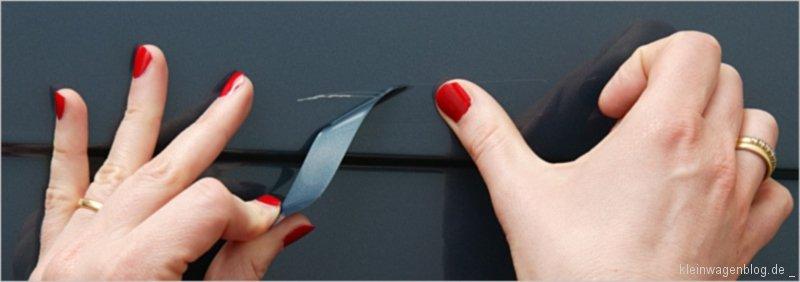 Ruckzuck repariert mit Stickerfix von Peugeot