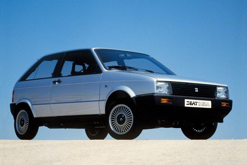 Seat Ibiza 1984 2012