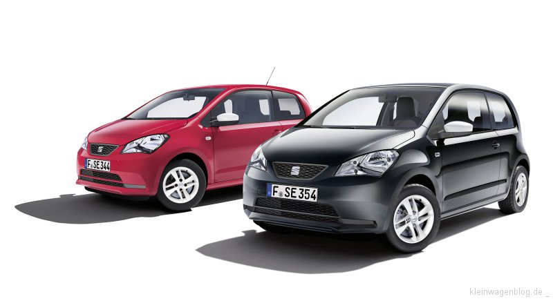 SEAT Mii Edition Red und Mii Edition Black