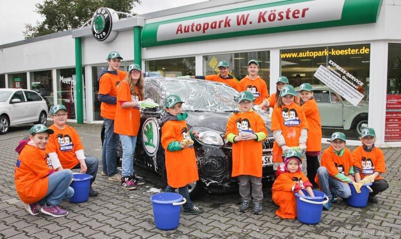 """ŠKODA AUTO Deutschland unterstützt die """"Action!Kidz""""-Kampagne der Kindernothilfe"""