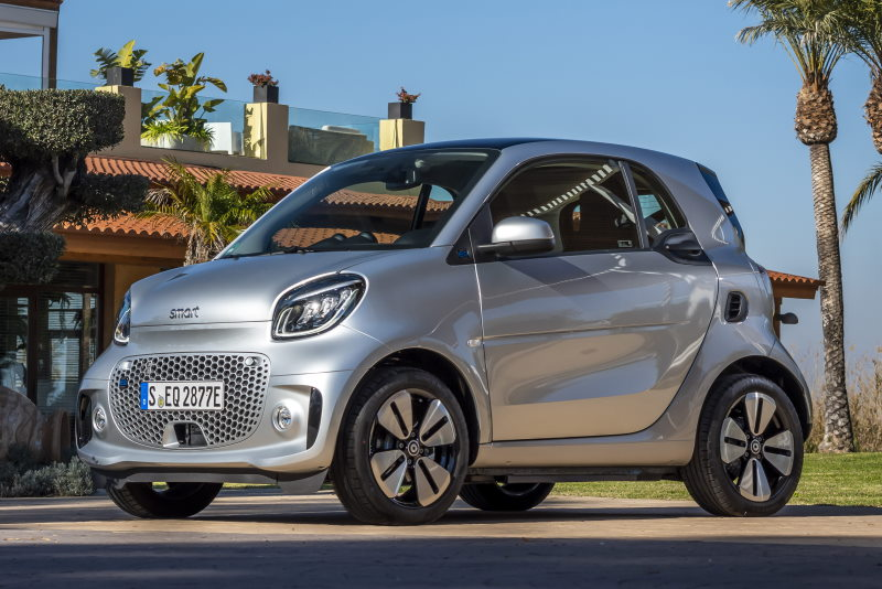 smart EQ fortwo, coupe