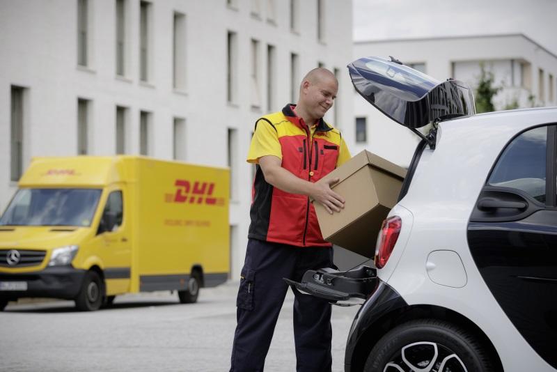 smart Kofferraum wird zum Paketfach