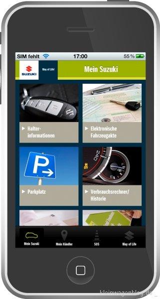 Suzuki startet kostenlose Service-App für seine Kunden
