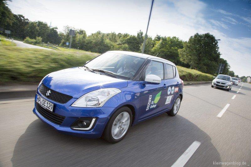 Suzuki Swift - CO2-Challenge