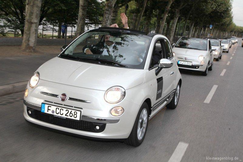 Technologiedienstleister Capco fährt ab auf Fiat 500C