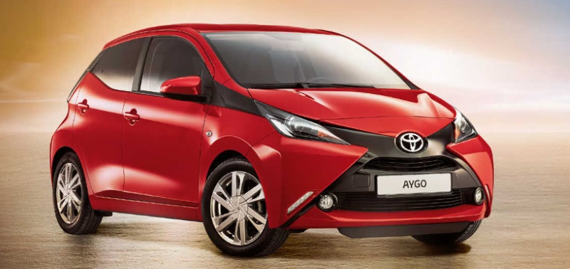Toyota Aygo x-Play Edition-S