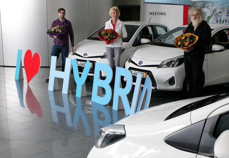 Toyota Hybrid macht glücklich
