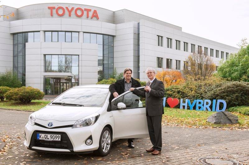 Toyota Hybrid Sommer mit Happy End