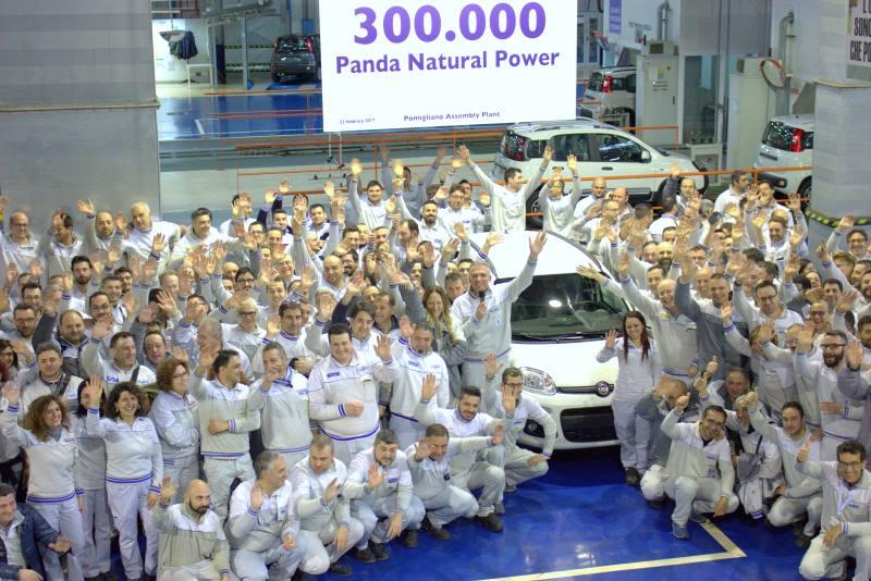 Über 300.000 Fiat Panda Natural Power wurden in Pomigliano produziert