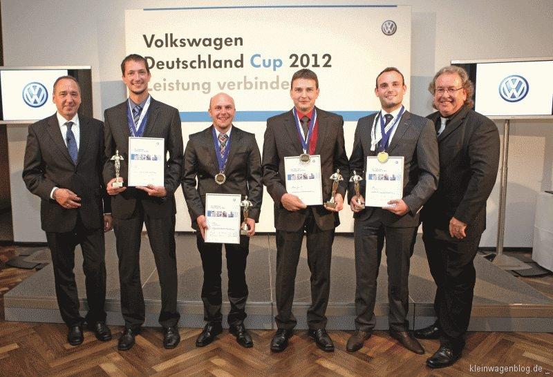 Volkswagen kürt beste Autohaus-Mitarbeiter Deutschlands