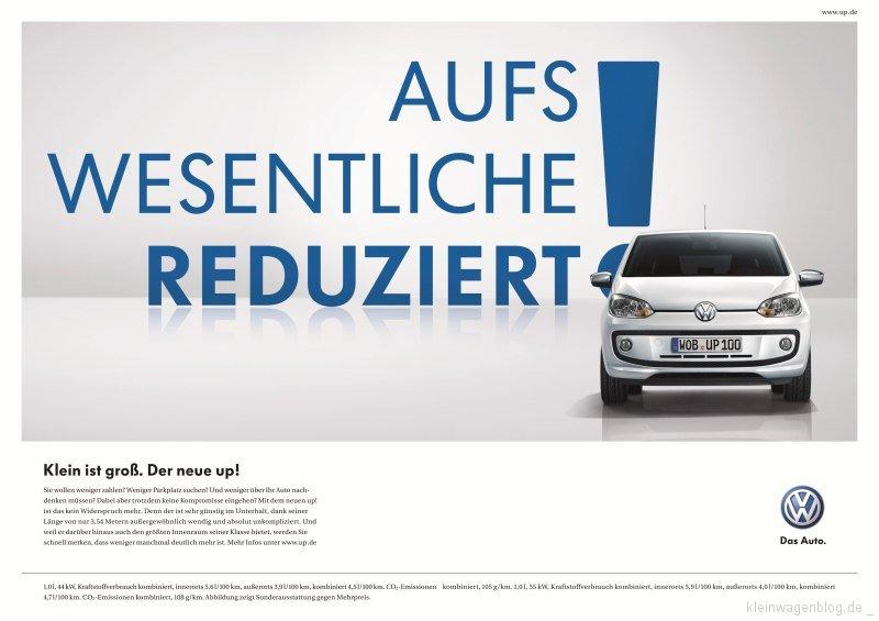 Volkswagen Startet Europaweite Kampagne F 252 R Den Up