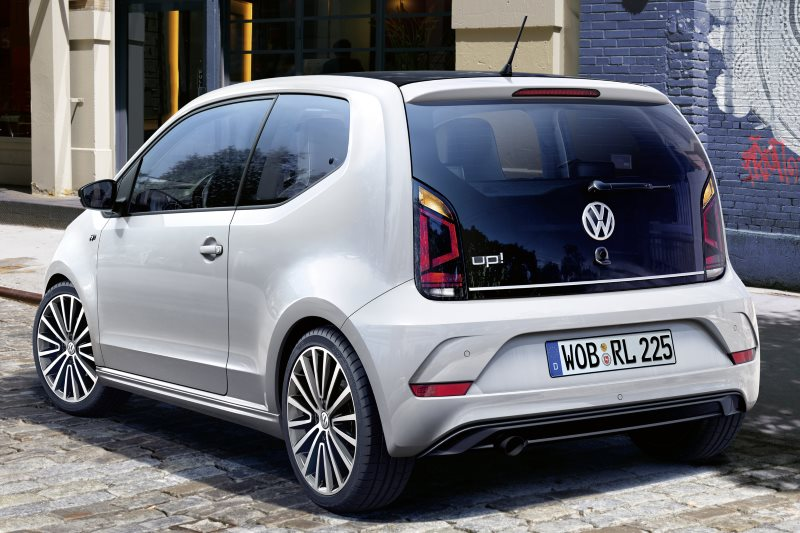 VW up! mit R-Line-Exterieur-Paket