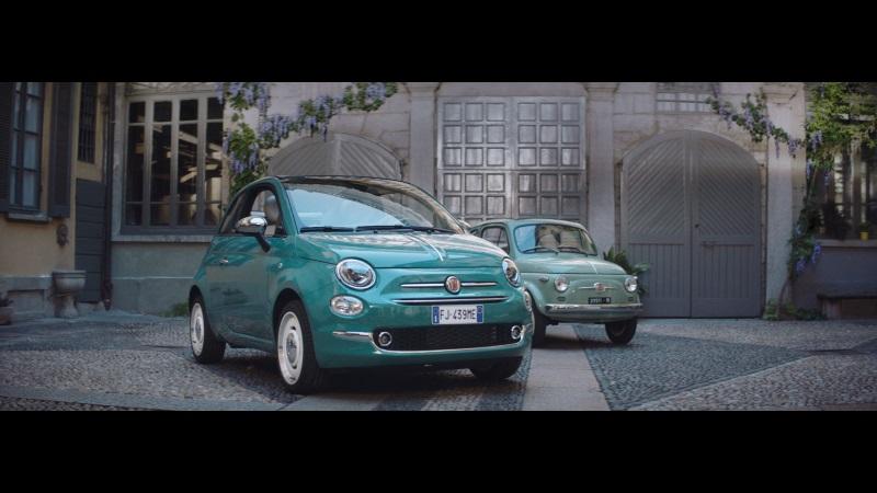 Werbespot mit Oscar Preisträger Adrien Brody zum 60. Geburtstag des Fiat 500