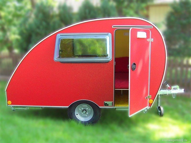 das schneckenhaus ein kleinst wohnwagen kleinwagenblog. Black Bedroom Furniture Sets. Home Design Ideas